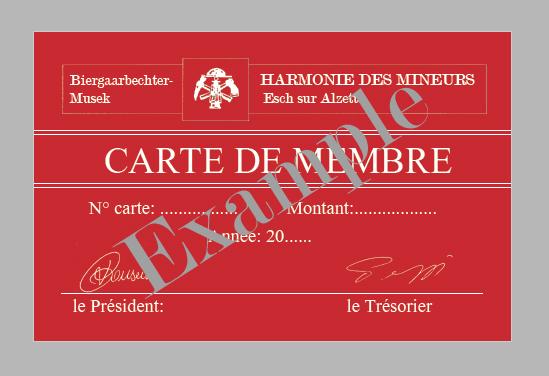 memberskaart