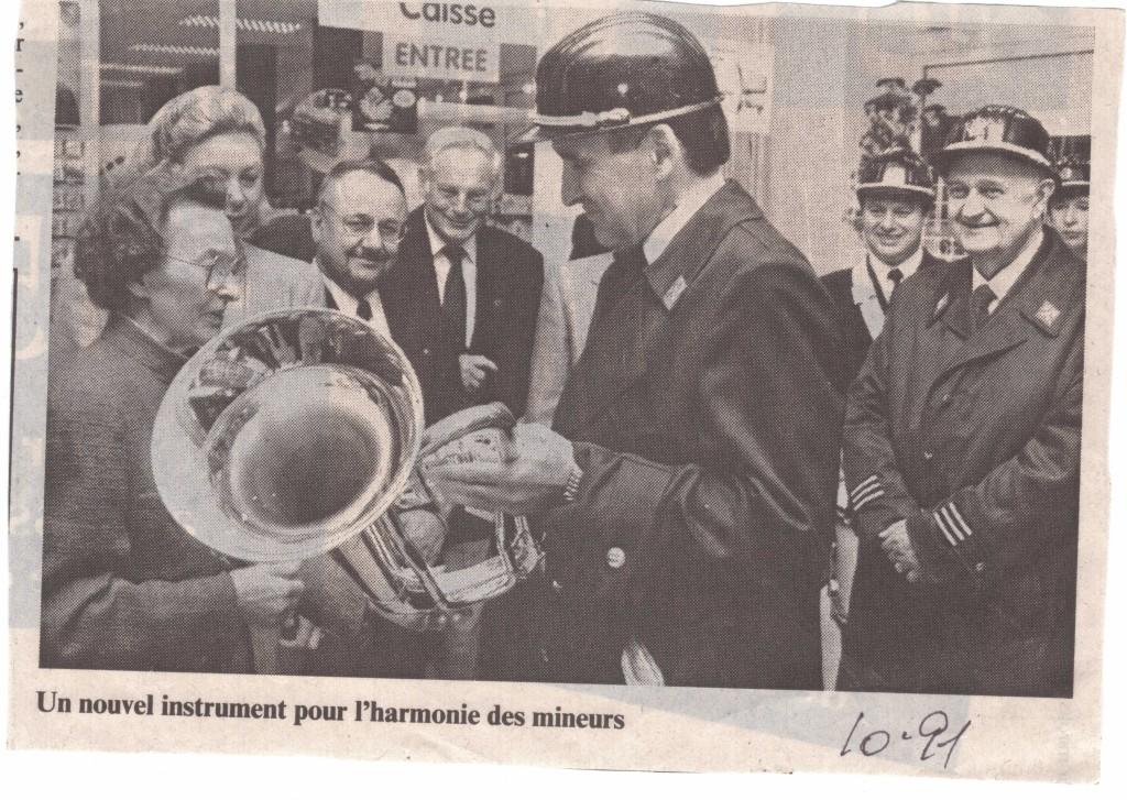Neit Instrument 1989 ouverture SCHOLESCH ECK, offert par Mme Scholer et M.J. Scholer